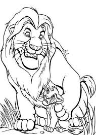 disneys lion king coloring pages mufasa fighting duel
