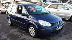 renault megane 2006 used renault megane scenic 2006 for sale motors co uk