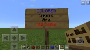 Minecraft How To Make A Bed How To Make Colored And Different Font Signs Any Platform
