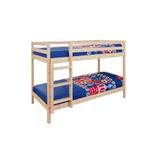 Small Bunk Beds 2ft6 Small Single Wooden Bunk Bed In Pine Zara Co