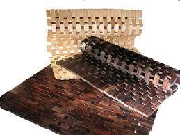 bathroom types of wooden bath mat with ceramic floor wooden bath
