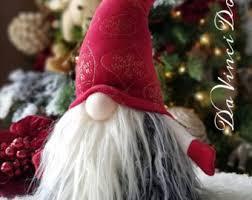 swedish tomte nisse gnome woodland hanging ornaments