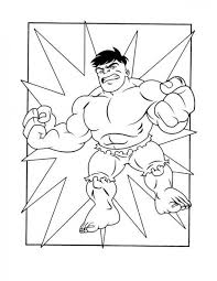 7 superhero squad images coloring pages