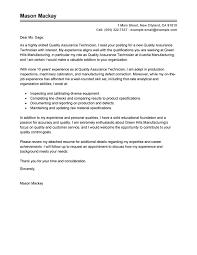 best quality assurance cover letter exles livecareer