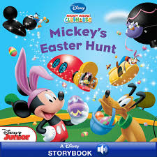 easter mickey mouse mickey mouse clubhouse mickey s easter hunt by disney book