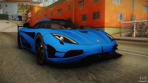 koenigsegg agera blue koenigsegg agera rs v1 for gta san andreas