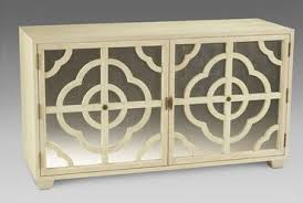 low bleached oak mirrored cabinet mecox gardens