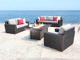 Wicker Deep Seating Patio Furniture by Resin Wicker Seating Tropicraft Patio Furniture