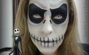 Nightmare Before Christmas Halloween Makeup by Maquiagem De Halloween Inspirada No Jack Skellington Por Santo