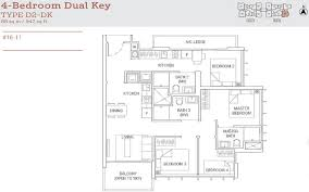 floor plan key tre residences aljunied urpropertyinfo