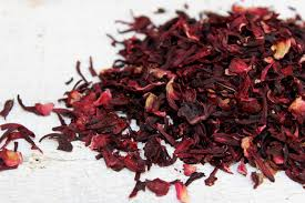 dried hibiscus flowers hibiscus iced tea a lemon tree