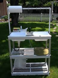 outdoor camping kitchen sink camping kitchen table home design