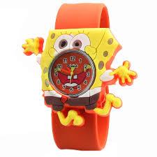 buy girls children watch cartoon cute hour quartz watch leather