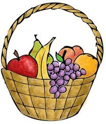 basket of fruit fruit basket the gal