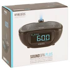 Clock That Shines Time On Ceiling by Homedics Sleep Solutions Soundspa Plus Walmart Com