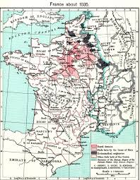 Map Of Northern France by Medieval France Maps Home Page