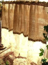 marvellous cream burlap curtains u2013 burbankinnandsuites com
