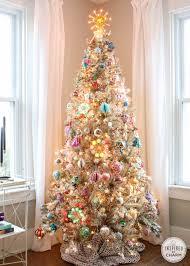 addicted vintage beaded christmas ornaments tree deck vintage