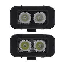 4 5 dual led mini work light 20w led light pods road