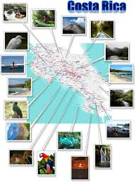 Southern Caribbean Map by Costa Rica Free Printable Map Download