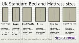 double bed mattress dimensions in uk standard by housewow home