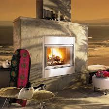 Outdoor Fireplace Insert - amazing outdoor wood burning fireplace insert home fireplaces