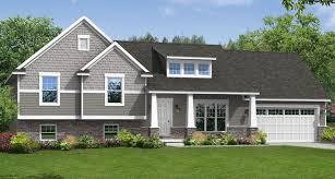 tri level home porch interesting overhang custom home floor plans the brighton