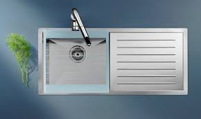 Stainless Steel Kitchen Sink By Roca New XTra Sink - Sink kitchen stainless steel