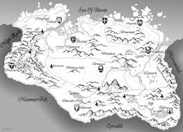 Map Of Skyrim Skyrim Map Thinking About Using It With A Projector To Do A