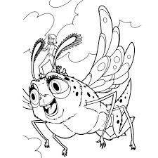 susan ride insectosaurus monster aliens coloring