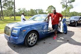 rolls royce racing rolls royces with superbowl champion warren sapp