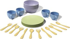 green toys dish set made safe in the usa