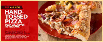 domino pizza hand tossed that great new pizza hut hand tossed crust firestream