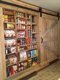 Bookcase Pantry Pantry Doors Pantry Antique Door Hung With Barn Door Hardware