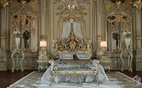 Bedroom Set King Size Bed by Royal Gold Bedroom Set Carved With King Size Bed Top And Best