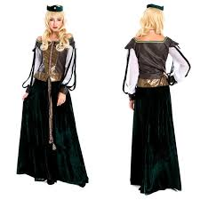Halloween Costumes Greek Goddess Women Renaissance Medieval Gothic Long Dress Halloween Costumes
