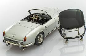 ferrari silver handmade ferrari 250 california silver by cmc models racing heroes