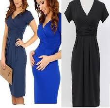 maternity clothes uk maternity dress v neck pregnancy tunic clothes nursing stretchy dress