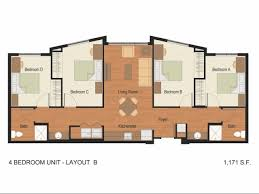 floor plans florida 2 4 bed apartments florida polytechnic residence