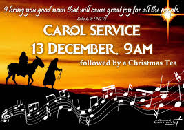 carol service invite with glenwood community church durban