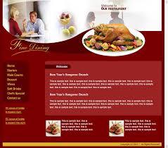 free html web template restaurant cafe png 804 707 web design