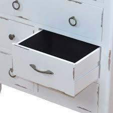 Schlafzimmer Kommode Shabby Shabby Chic Kommode Relencia In Weiß Mit 7 Schubladen
