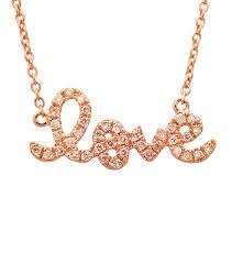gold diamond love necklace images Sydney evan small diamond love necklace thomas laine jpg
