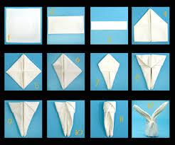 easter napkins 28 creative napkin folding techniques napkins bunny and easter