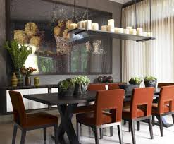 Linear Chandelier Dining Room Linear Chandelier Dining Room Home Design Plan