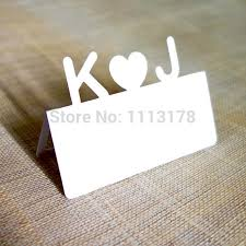 personalized cards wedding aliexpress buy tailor made personalized initial letter name