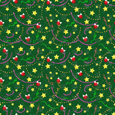 New Year Decoration Vector by Christmas Seamless Pattern With Balls Golden Stars And Paper