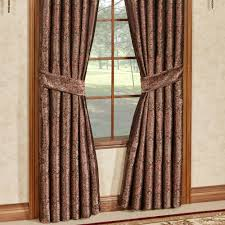bridgeport red window treatment by j queen new york