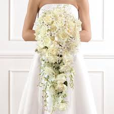 wedding flowers ottawa deluxe cascade bridal bouquet rideau florist ottawa weddings