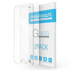 amazon com iphone 7 plus screen protector maxboost 2 pack